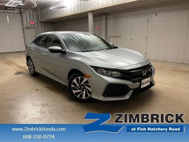 Charming 2018 Honda Civic Hatchback LX CVT In Madison, WI   Zimbrick Honda